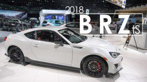 Subaru BRZ tS 2018: a un paso del verdadero STI