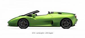 Zagato Lamborghini L595 2018, un auto fuera de serie
