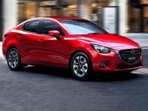 Mazda 2 Sedán 2019, presentación