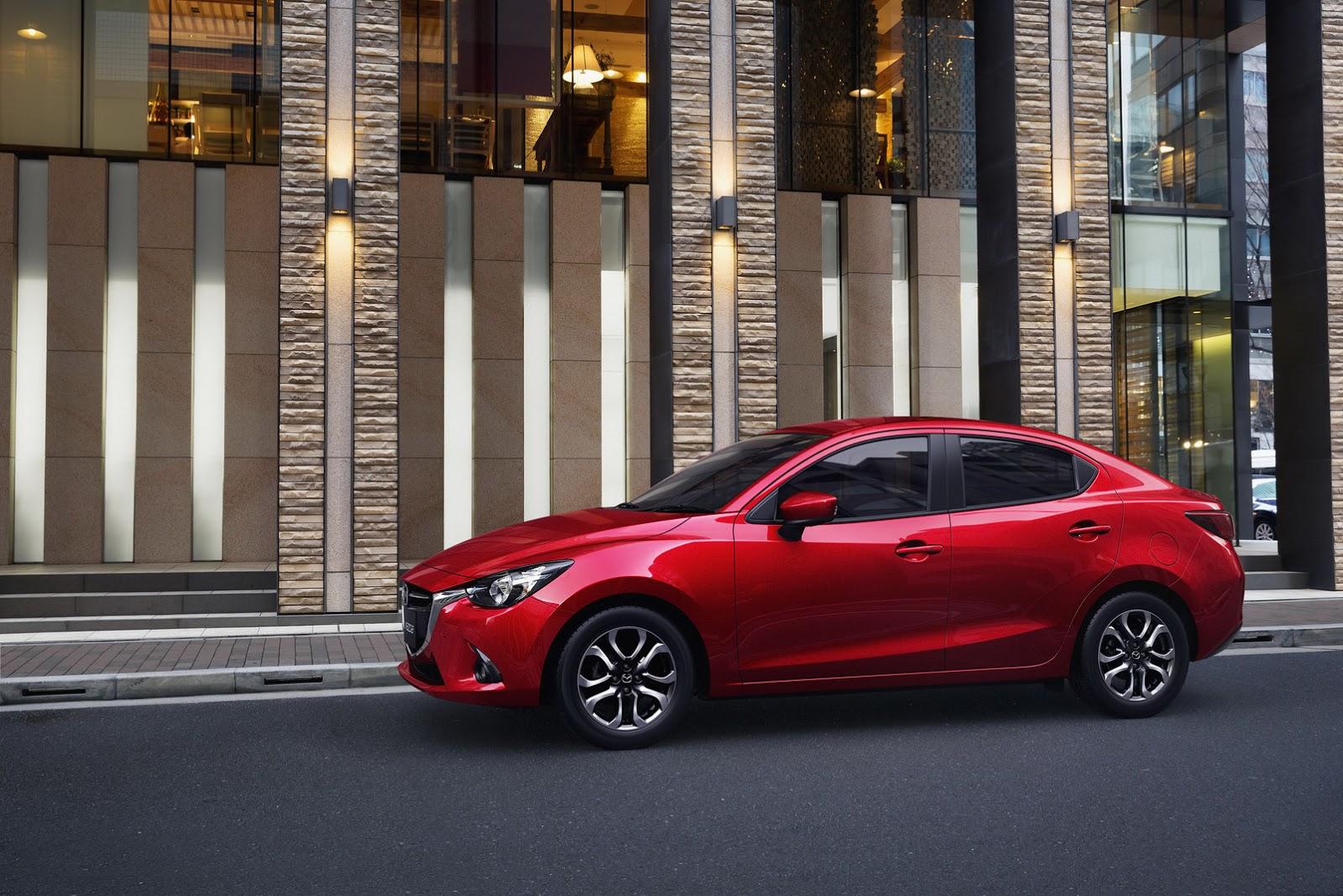 Mazda 2 Sedán 2019, presentación | Lista de Carros