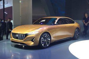 Salón de Beijing 2018: Pininfarina H500 Concept, un lujoso y futurista sedán 100% eléctrico