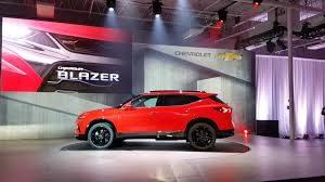 Nueva Chevrolet Blazer 2019:  vanguardista y moderna.