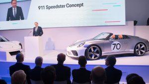 Porsche 911 Speedster Concept, el regalo perfecto para un cumpleaños