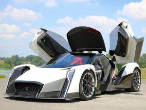 Dendrobium D-1, un poderoso auto eléctrico de 1,800 CV.