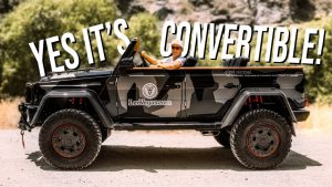 Mercedes-Benz Clase G by Jon Olsson, ahora convertible y más radical