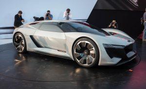 Pebble Beach 2018: Audi PB18 e-tron Concept, así serán los superdeportivos eléctricos alemanes