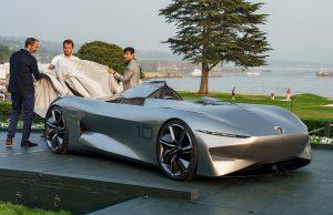 Pebble Beach 2018: Infiniti Prototype 10, un futurista auto eléctrico de lujo