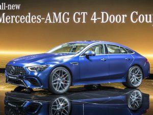 Mercedes-AMG GT 4-Doors Coupé, el modelo de calle más potente de la marca.