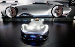 Salón de París 2018: Mercedes -Benz  EQ Silver Arrow, un futurista eléctrico en homenajea al bólido W125 de 1937