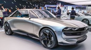 Salón de París 2018:  Peugeot e-Legend Concept, 100% eléctrico y autónomo.