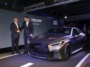 Auto Show de París 2018: Infiniti Project Black S Prototype,  deportividad híbrida al estilo japonés