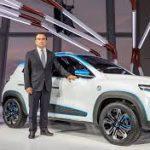 Auto Show de París 2018: Renault K-ZE, un auto eléctrico de bajo precio