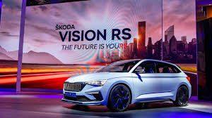 Auto Show de París 2018:  Skoda Vision RS, así será el futuro compacto deportivo de los checos