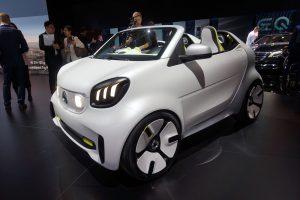 Auto Show de París 2018: Smart Forease Concept, un 'mini roadster' eléctrico para celebrar 20 años