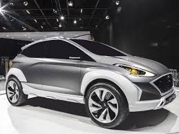 Salón del Automóvil de Sao Paulo 2018: Hyundai Saga EV Concept, un Crossover eléctrico para Latinoamérica