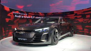Salón de Los Ángeles 2018: Audi e-tron GT Concept, elegancia y poder
