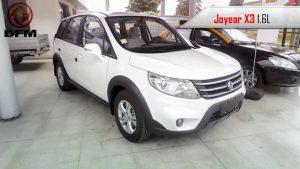 DFM Joyear X3 2019: una muy interesante SUV china