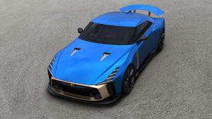 Nissan GT-R50 Italdesign, poder y belleza por más de un millón de euros.