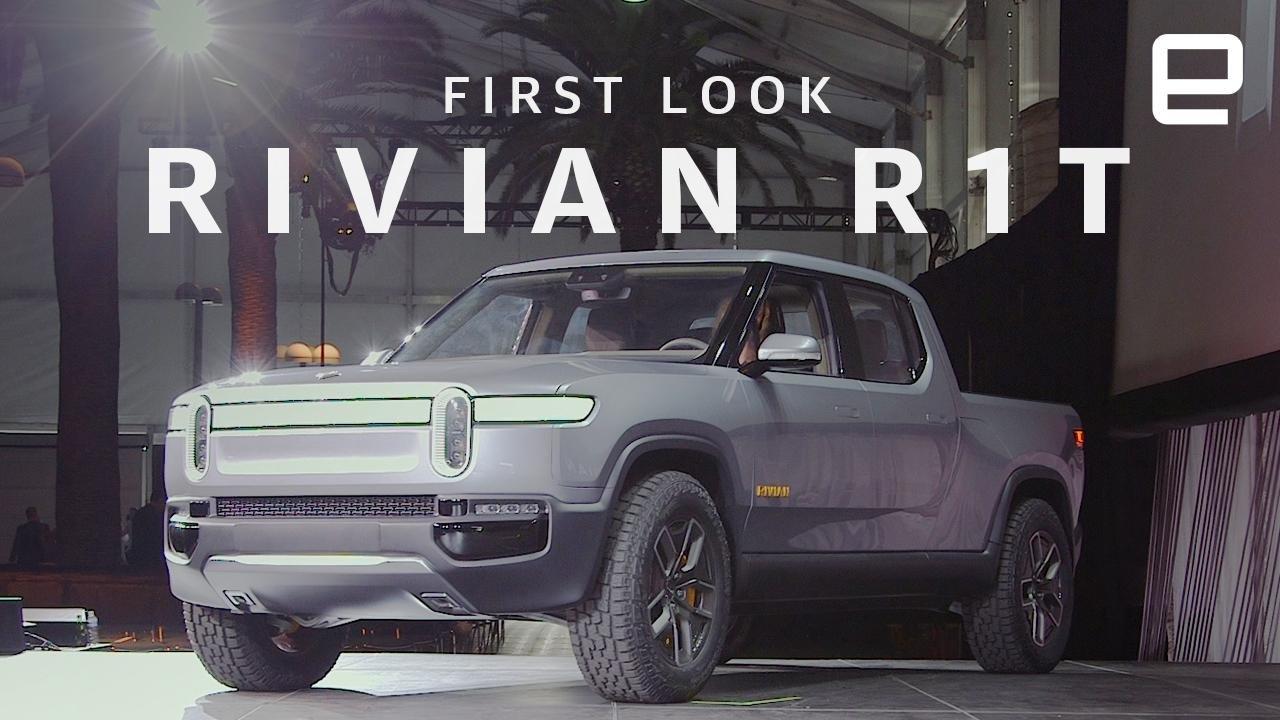 Auto Show de Los Ángeles 2018: Rivian R1T Pick-Up, la ...