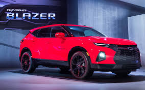Chevrolet Blazer 2019: Impresionante, moderna y muy equipada.