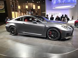 Auto Show de Detroit 2019: Lexus 2020 RC F Track Edition, más radical y orientado a pista