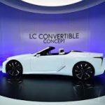 Auto Show de Detroit 2019: Lexus LC Convertible Concept, belleza a cielo abierto