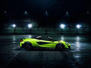 McLaren 600LT Spider 2019, emoción a cielo abierto