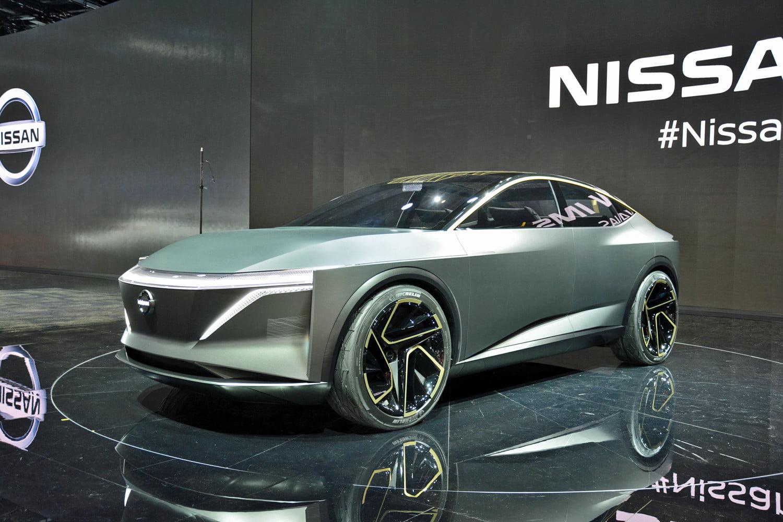 auto show de detroit 2019  nissan ims concept  otro rival