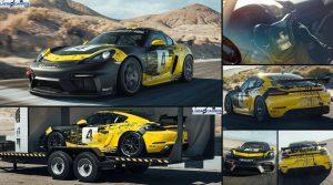Porsche 718 Cayman GT4 Clubsport 2019,  para los amantes al circuito