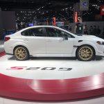 Auto Show de Detroit 2019:  Subaru WRX STI S209, una versión más poderosa solo para EEUU