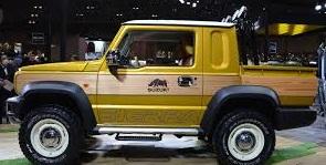 Suzuki Jimny Sierra,  la variante pick up del exitoso nipón