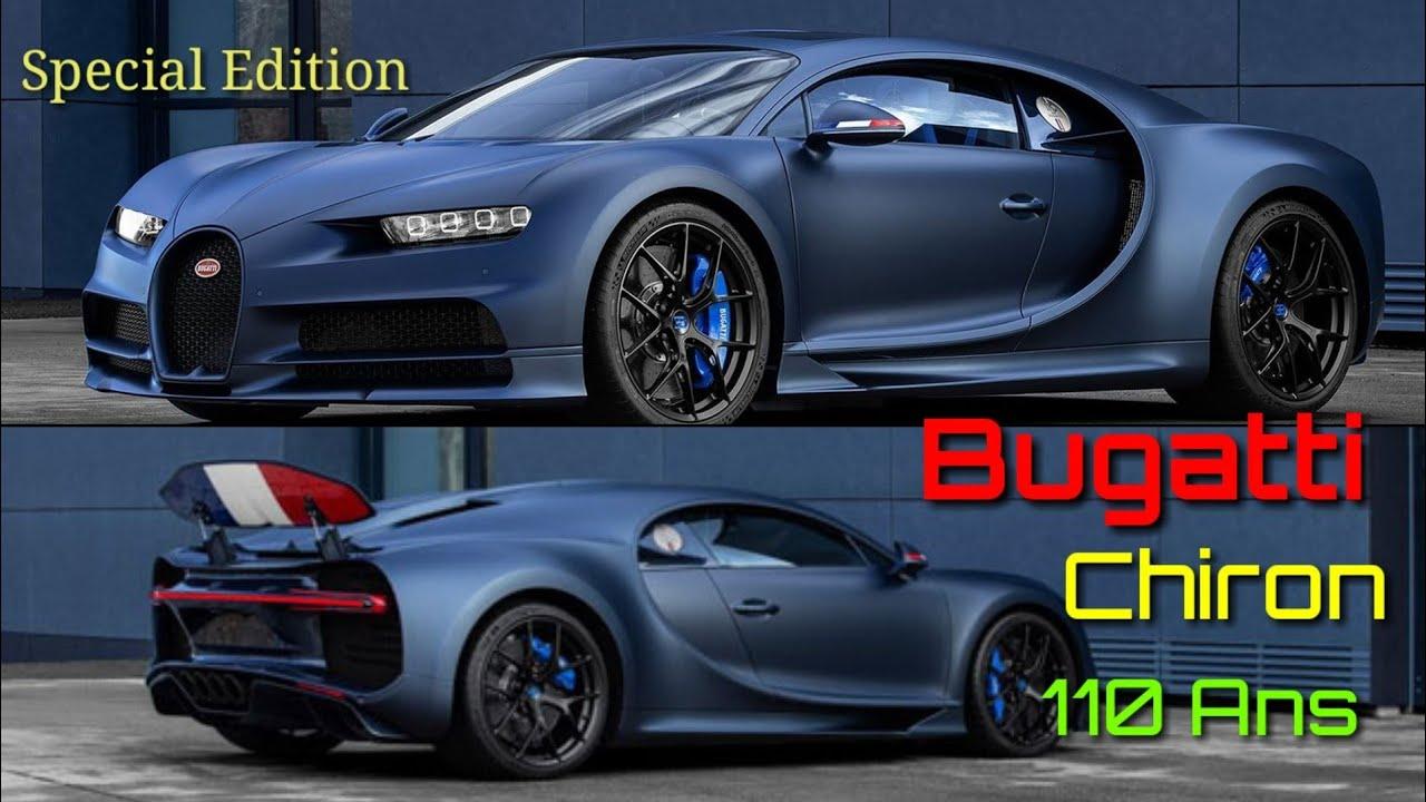 Bugatti Chiron Sport 110 Ans Bugatti Solo 20 Super Exclusivas Unidades Lista De Carros