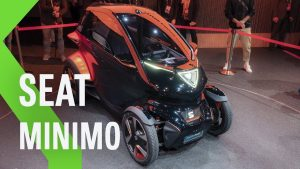 SEAT Minimó, un Concept 100% eléctrico con 100 kms autonomía.