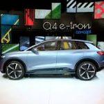 Audi Q4 e-Tron Concept, una SUV tipo Coupé 100% eléctrica