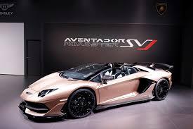 Salón de Ginebra 2019: Lamborghini Aventador SVJ Roadster, poder, belleza y felicidad a cielo abierto.