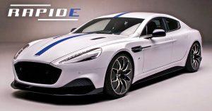 El primer Aston Martin Rapid E llega a la China