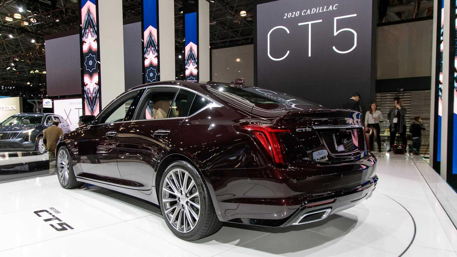 Auto Show De Nueva York 2019 Cadillac Ct5 2020 Listo El