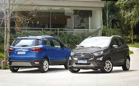 Ford EcoSport 2019: ahora con versión 4x4