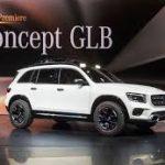 Auto Show de Shanghai 2019: Mercedes-Benz GB Concept, una SUV compacta pero de 3 filas
