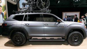 Auto Show de Shanghai 2019: Volkswagen Atlas Basecamp Concept, un Atlas muy aventurero