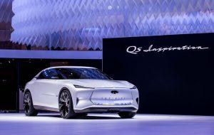 Infiniti QS Inspiration Concept, otro rival en camino para Tesla