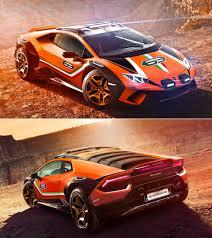 Lamborghini Huracan Sterrato Concept, poderoso y  con capacidades off road.