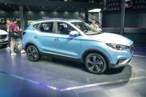 MG eZS, el SUV 100% eléctrico que será global