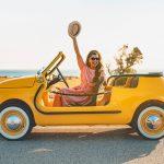 Fiat 500 Jolly Spiaggina Icon-e, un divertido auto eléctrico solo para la renta