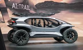 Auto Show de Frankfurt 2019: Audi AI: Trail Concept, futurista y agresivo.