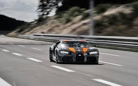 Confirmado el Bugatti Chiron es el el auto más rápido del mundo: 490 km/h (video)
