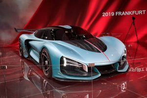 Auto Show de Frankfurt 2019: Hongqi S9 Concept, un híper deportivo electrificado con 1.400 CV.