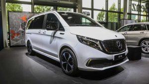 Salón de Frankfurt 2019: Mercedes-Benz EQV, una furgoneta con 204 CV y 450 km de autonomía
