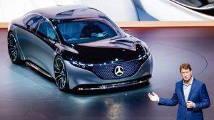 Auto Show de Frankfurt 2019: Mercedes-Benz Vision EQS Concept, el futuro Clase S y rival del Tesla Model