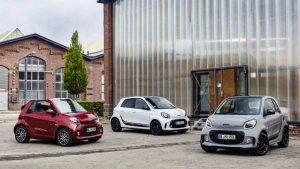 Smart EQ: Todos sus autos serán completamente eléctricos.